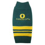 Doggie Nation Collegiate Oregon Ducks Sweater - Extra Small