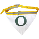 Doggie Nation Collegiate Oregon Ducks Collar Bandana - Large