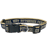 Doggie Nation Collegiate Pittsburgh Panthers Collar - Large