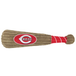 Doggie Nation MLB Cincinnati Reds Bat Toy