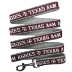 Doggie Nation Collegiate Texas A & M Aggies Leash - Large