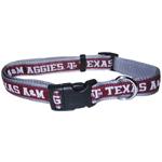 Doggie Nation Collegiate Texas A & M Aggies Collar - Large