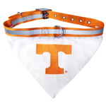 Doggie Nation Collegiate Tennessee Volunteers Collar Bandana - Large