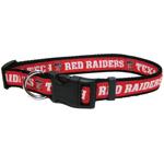 Doggie Nation Collegiate Texas Tech Raiders Collar - Large