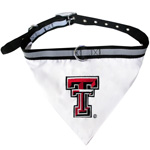 Doggie Nation Collegiate Texas Tech Raiders Collar Bandana - Large