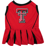 Doggie Nation Collegiate Texas Tech Raiders Cheerleader - Extra Small