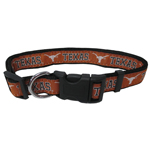 Doggie Nation Collegiate Texas Longhorns Collar - Large
