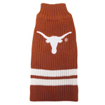 Doggie Nation Collegiate Texas Longhorns Sweater - Extra Small