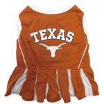 Doggie Nation Collegiate Texas Longhorns Cheerleader - Small
