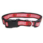 Doggie Nation Collegiate Louisville Cardinals Collar - Large