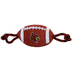 Doggie Nation Collegiate Louisville Cardinals Nylon Football