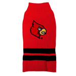 Doggie Nation Collegiate Louisville Cardinals Sweater - Extra Small