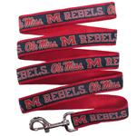 Doggie Nation Collegiate Ole Mississippi Rebels Leash - Large