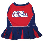 Doggie Nation Collegiate Ole Mississippi Rebels Cheerleader - Small
