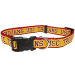 Doggie Nation Collegiate USC Trojans Collar - Large