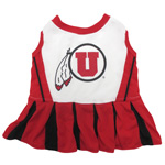 Doggie Nation Collegiate Utah Utes Cheerleader - Extra Small