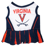 Doggie Nation Collegiate University of Virginia Cheerleader - Extra Small