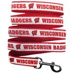 Doggie Nation Collegiate Wisconsin Badgers Leash - Large