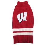 Doggie Nation Collegiate Wisconsin Badgers Sweater - Extra Small