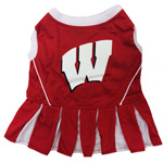 Doggie Nation Collegiate Wisconsin Badgers Cheerleader - Extra Small