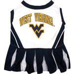 Doggie Nation Collegiate West Virginia University Cheerleader - Extra Small